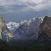 Yosemite Valley 2 Art Print