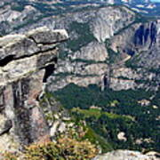 Yosemite Valley From Glacier Point Art Print