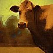 You Can Not Cow Me Art Print