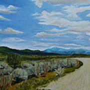 You Take The High Road.... Art Print