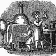 Young Chemists Art Print
