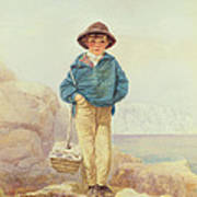 Young England - A Fisher Boy Art Print