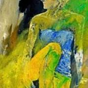Young Girl 572180 Art Print