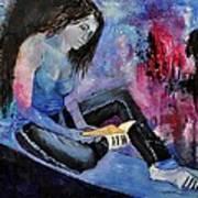 Young Girl 662160 Art Print