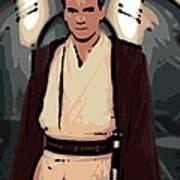 Young Obi Wan Kenobi Art Print