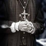 Young Renaissance Priest Art Print