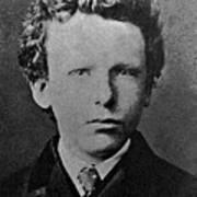 Young Vincent Van Gogh, Dutch Painter Art Print