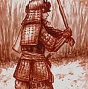 Young Warrior Art Print