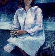 Young Woman Art Print