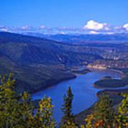 Yukon River In Fall Colors Art Print