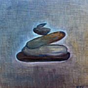 Zen Stones Art Print