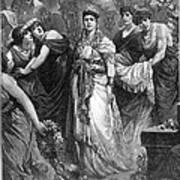 Zenobia (d. After 274 A.d.) Art Print