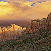 Zion National Park Sunrise II Art Print