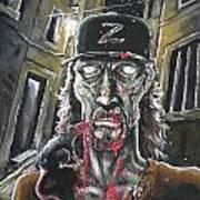 Zombie Tom Art Print