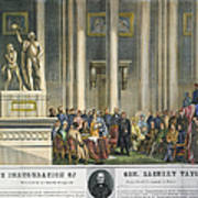 Z.taylor: Inauguration Art Print by Granger