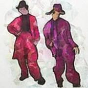Zuit Suit Time  Art Print