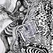Zulu Dance - South Africa Art Print