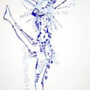 Zulu Dance  South Africa Art Print
