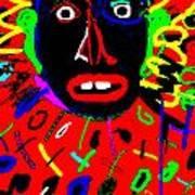 Zulu Red Art Print