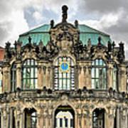 Zwinger Dresden - Carillon Pavilion - Caution Fragile Art Print by Christine Till