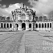 Zwinger Dresden Rampart Pavilion - Masterpiece Of Baroque Architecture Art Print