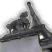 # 4 Paris France Art Print