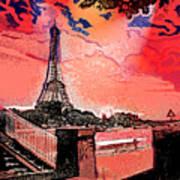 # 9 Paris France Art Print