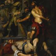 A Roman Execution Art Print
