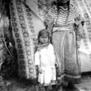 American Indian Woman Female Daughter 1890s Art Print