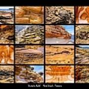 ' Australia Rocks ' - Maria Island - Tasmania Art Print
