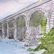 Ballydehob Bridge Ireland Art Print