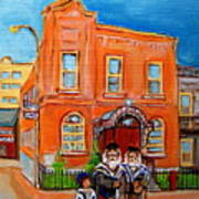 Beautiful Synagogue On Bagg Street Art Print