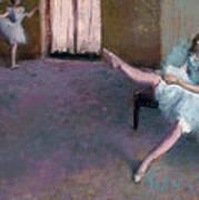 Before The Ballet Art Print