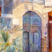 Blue Door  Art Print by Dorothy Boyer