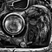 Bmw 327 Cabrio Art Print