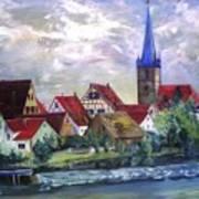 Brucker Kirche Art Print