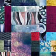 Composition Abstraite Art Print