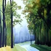 Country Road Art Print by Carola Ann-Margret Forsberg