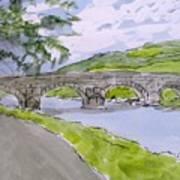 Ferry House Bridge Art Print