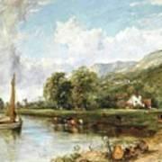 Fishing On The Estuary Art Print