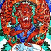 Ganapati  11 Art Print