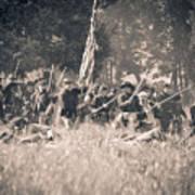 Gettysburg Union Infantry 9348s Art Print