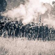 Gettysburg Union Infantry 9360s Art Print