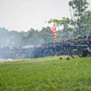 Gettysburg Union Infantry 9968c Art Print