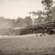 Gettysburg Union Infantry 9968s Art Print