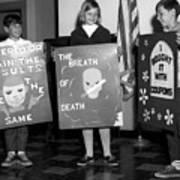 Grade School Children Kids Posters Circa 1960 Art Print