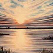 Highlights Of A Sunset Art Print