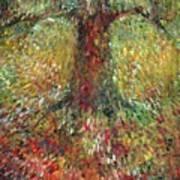Invisible Tree Art Print