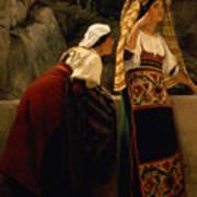 Italian Women From Abruzzo  Art Print