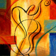Jazz Fusion Art Print
